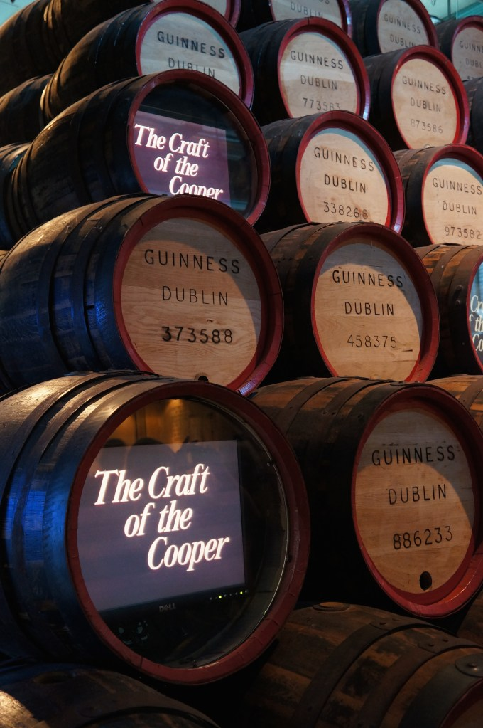 Guinness Distillery, Dublin, Ireland. Photo: Eeva Routio.