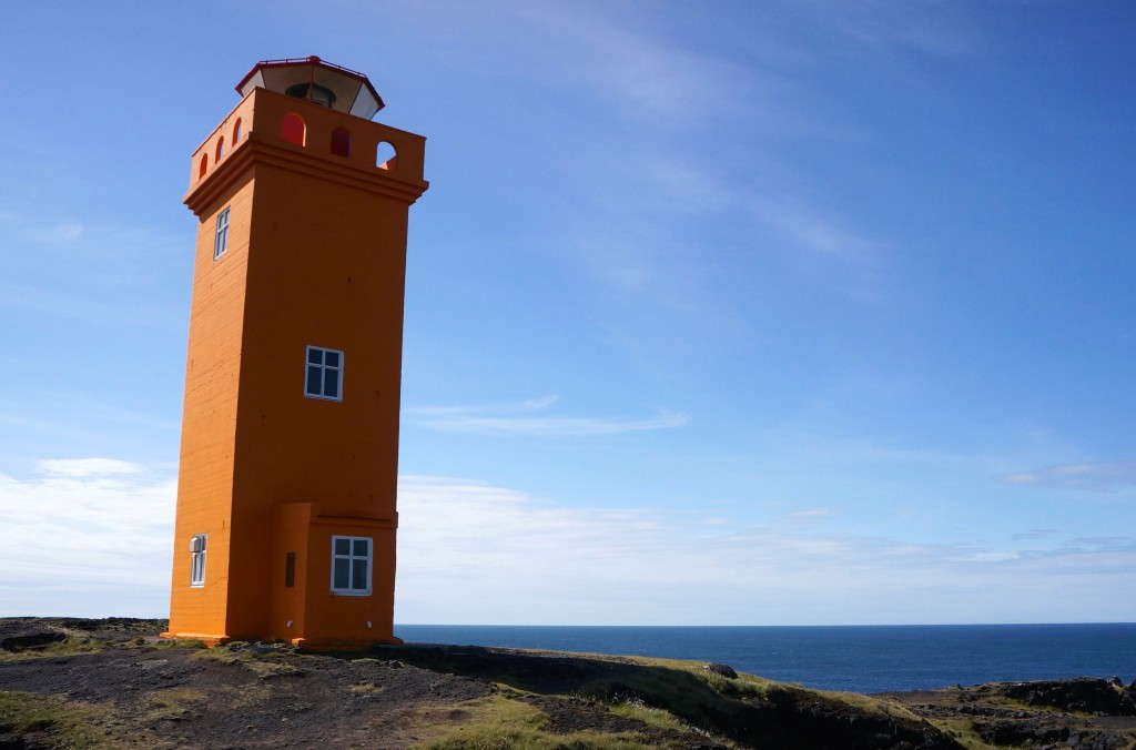 Taking a career break. Lighthouse in Iceland. Photo: Eeva Routio.