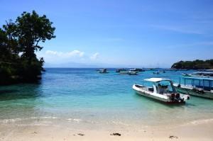 Mushroom Beach, Nusa Lembongan, Indonesia. Photo: Eeva Routio.
