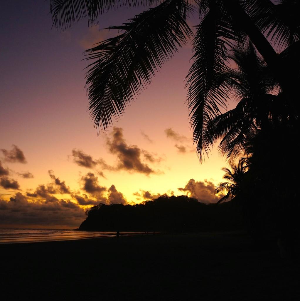 Samara Beach Costa Rica sunset. Photo: Eeva Routio.