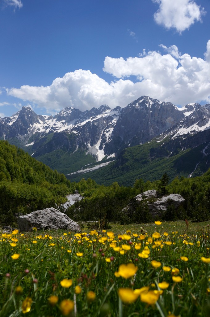 Albanian Alps. Photo: Eeva Routio.