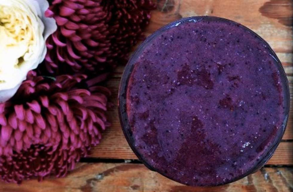 Maqui berry smoothie