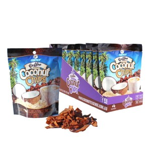 coffee coconut chips