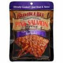 Bumblebee Pink Salmon Steak Teriyaki (VacPac)