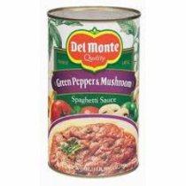 Del Monte Green Pepper & Mushroom Spag. Sauce