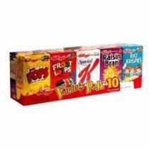 Kelloggs Cereal Variety Pak