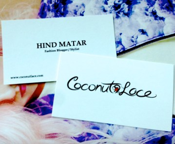 ~ New Business Cards ~