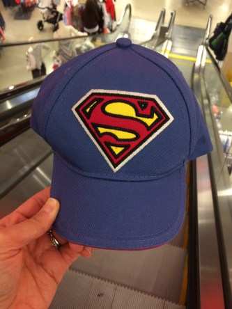 ~ Superman cap for my nephew ~