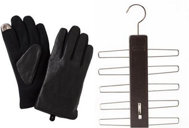 gloves and belt