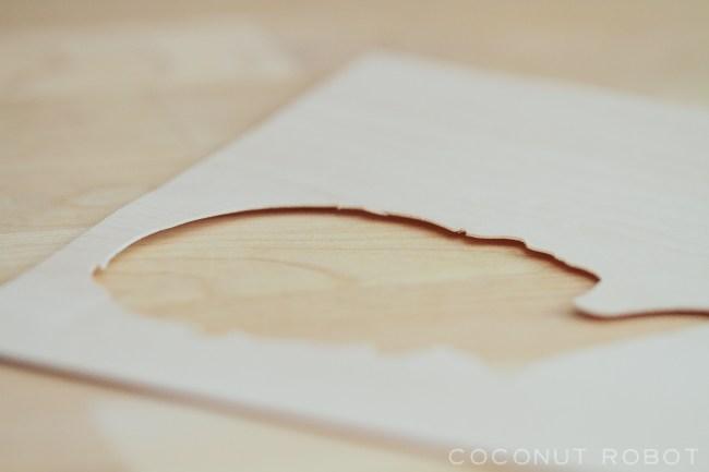 wood veneer Silhouette Hook-6