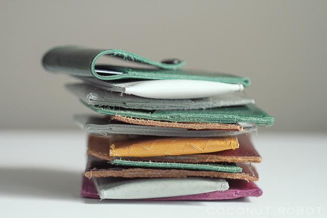 Coconut Robot Pocket Wallet-50