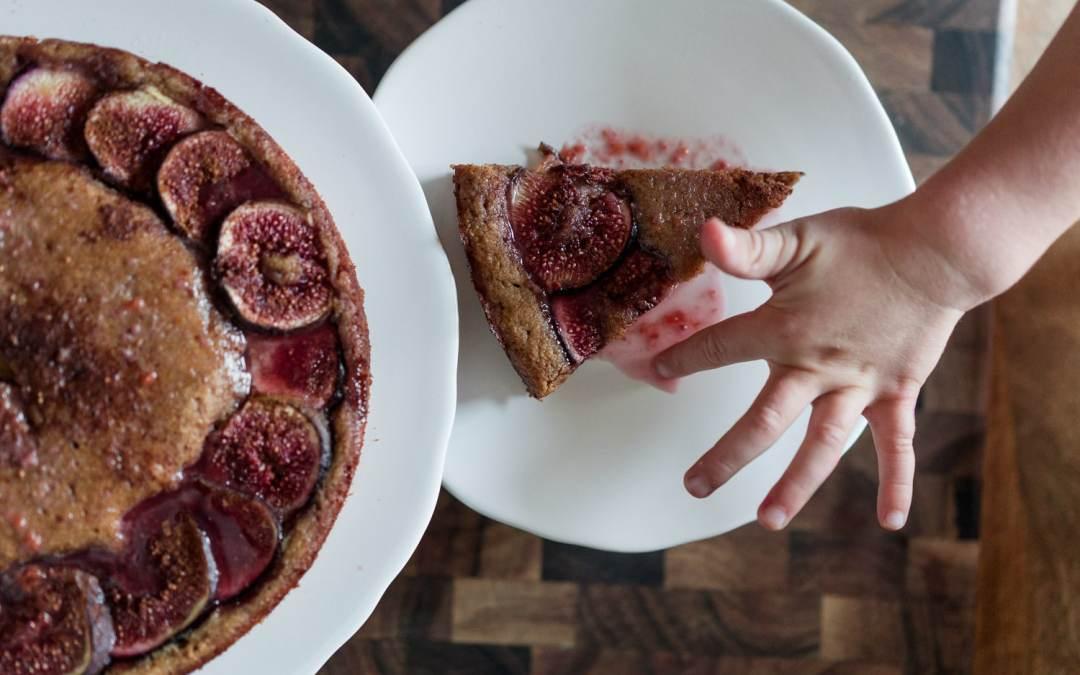 Paleo Fig Cake | No Refined Sugar