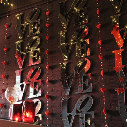 Valentijn ecoratie Friesland Leeuwarden