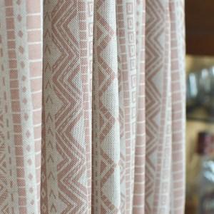Curtain Fabric by Cocoon Home - Kuba Cloth