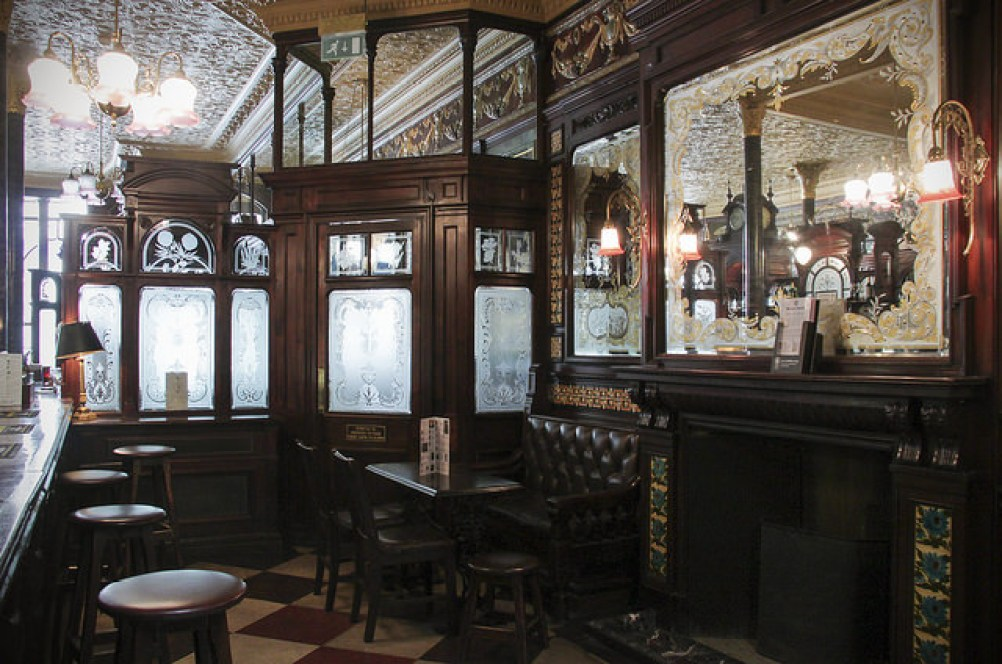 Princess Louise pub, Holborn, London