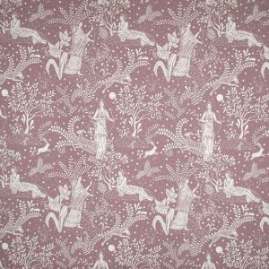 Curtain Fabric Upholstery Fabric Pink curtain fabric Cocoon Home Artemis