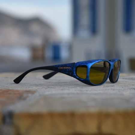 Mini Slim ink Cocoons fitover sunglasses