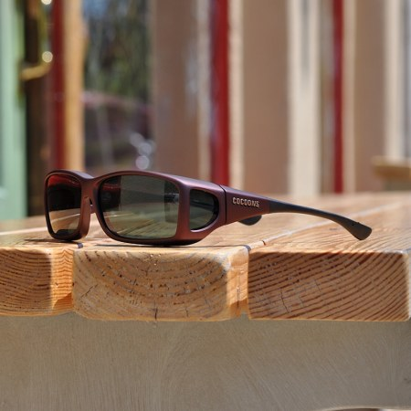 Modern fitover sunglasses