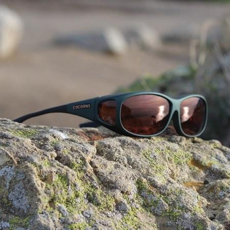 Ivy Mini Slim fitover sunglasses with copper