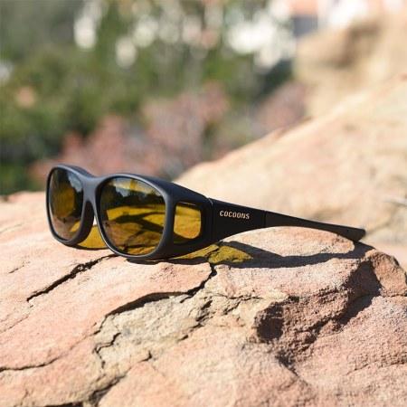 Fishing fitover sunglasses
