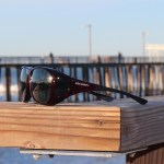 Large Cocoons fitover sunglasses in Black Cherry