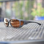Style Line fitover sunglasses with hazelnut lenses