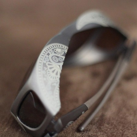 Fitover sunglasses with henna pattern