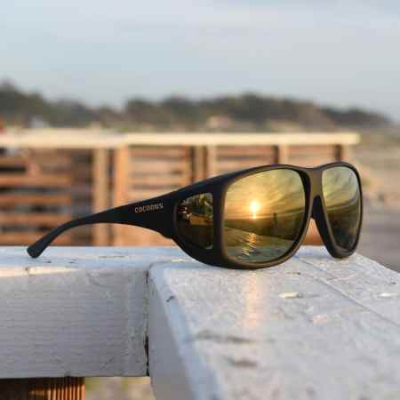 Sunset shot of cocoons fitover sunglasses