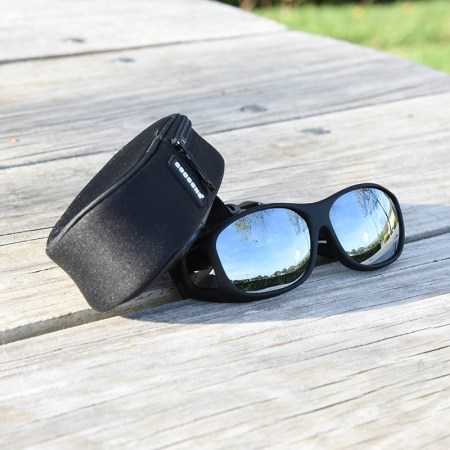 Cocoons silver mirror fitover sunglasses