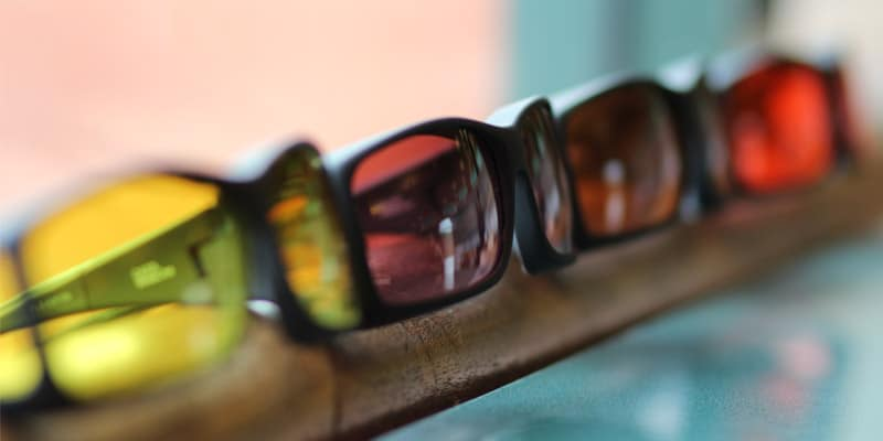 Cocoons fitover sunglasses in low vision filters