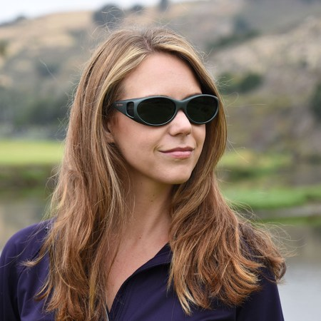 Cocoons fitover Sunglasses at Golf Course