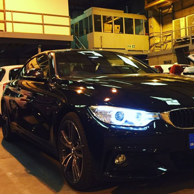 BMW 4 Series convertible ordered for a regular customer in London