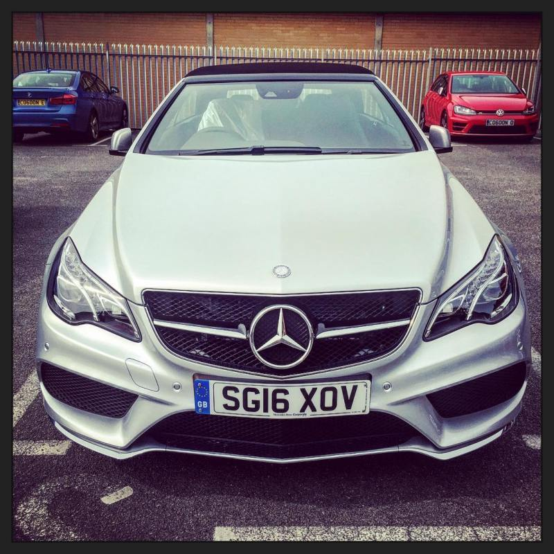 Beautiful Mercedes E Class Convertible arrived ready for delivery tomorrow!
