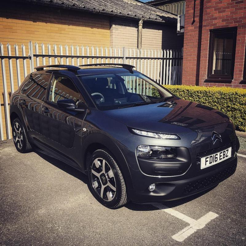 The Citroen Cactus! Going to a customer on an 18 month contract!