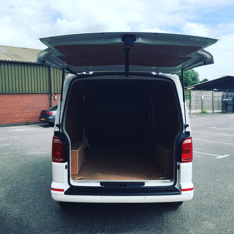Not sure if we could fit a small car into this T6 Transporter!