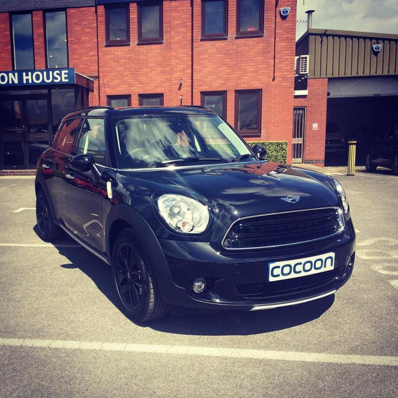 MINI Countryman available on a Short Term Lease.  If you would like more information about any of the vehicles we have on offer, please give us a call on 01332 290173 or visit our website.  www.cocoonvehicles.co.uk