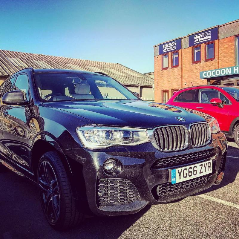 """BMW X3 just left to go to a new customer! Short and Long Term Car Leasing : 0330 330 9425 : or GOOGLE """"Cocoon Vehicles"""""""