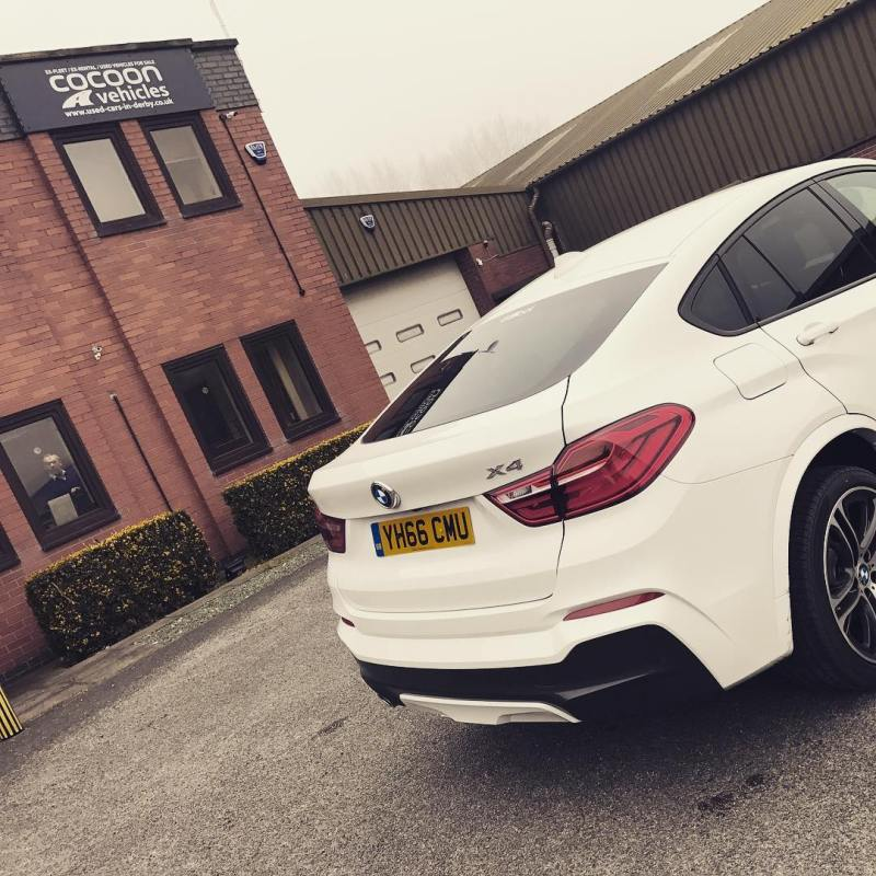 """Shiny white BMW X4 M Sport going out on Flexirent! 90 days or more to get one of these at £559 plus VAT per month! Whilst stocks last! Short and Long Term Car Leasing : 0330 330 9425 : or GOOGLE """"Cocoon Vehicles"""""""