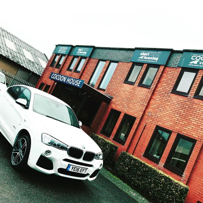 """BMW X4!  Short and Long Term Car Leasing : 0330 330 9425 : or GOOGLE """"Cocoon Vehicles"""""""