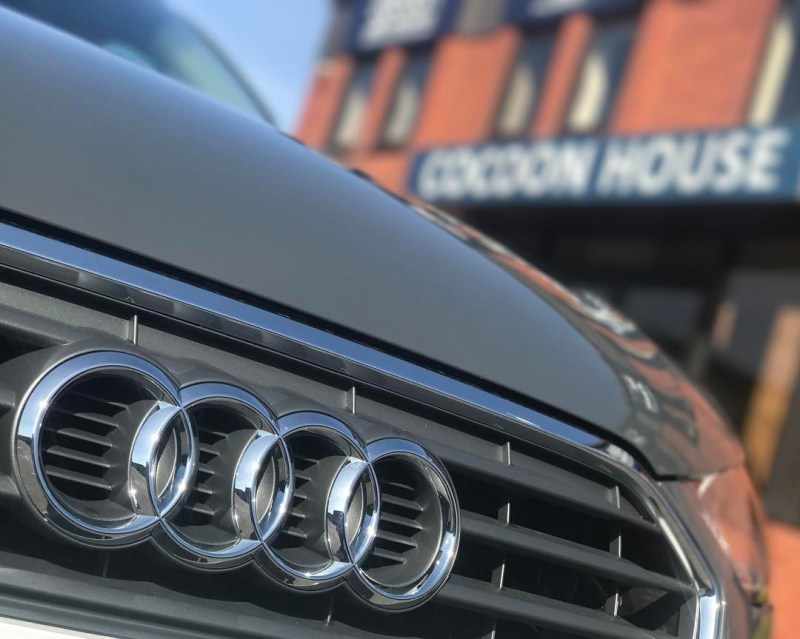 """Audi A1 all ready to roll outside the offices Short and Long Term Car Leasing : 0330 330 9425 : or GOOGLE """"Cocoon Vehicles"""""""