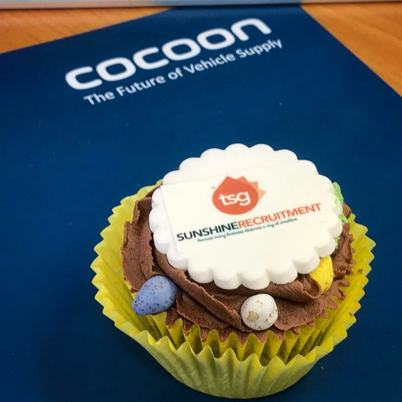 Big thank you to @sunshinerecruitment for our Easter cakes! @chrissawadlow
