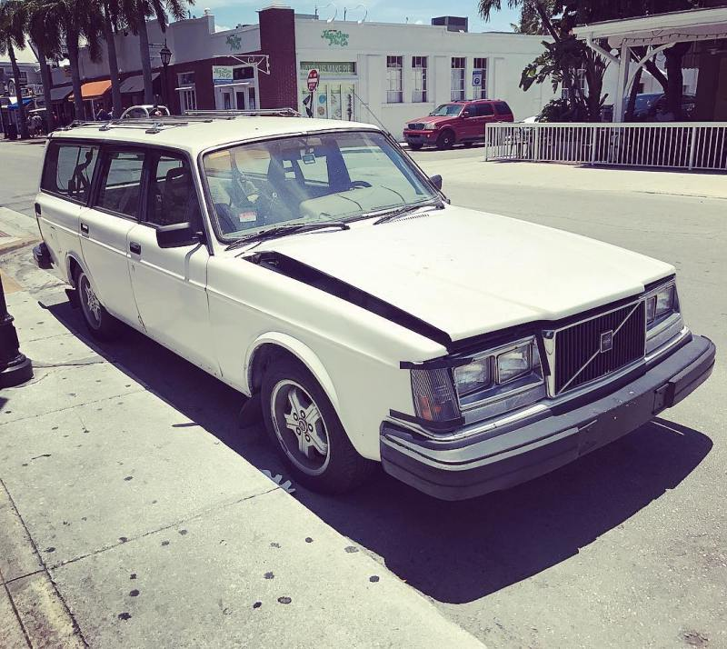 Solid build quality means this old Volvo still goes