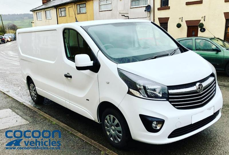 It's not just cars we do! This is the Vauxhall Vivaro Sportive that we have sold from our ex-Fleet stock! Delivered to Melton Mowbray this morning!