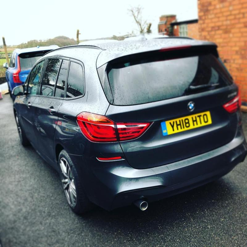 BMW 2 Series Active Tourer delivered to an existing customer