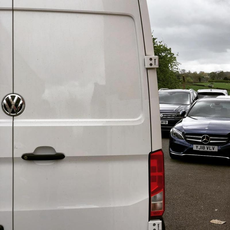 Massive VW Crafter just arrived ready for our new customer!