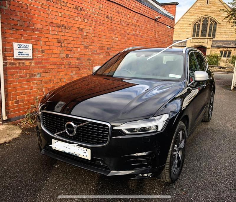 Another Volvo XC60 R Design off out to an existing customer on a 12 month lease.