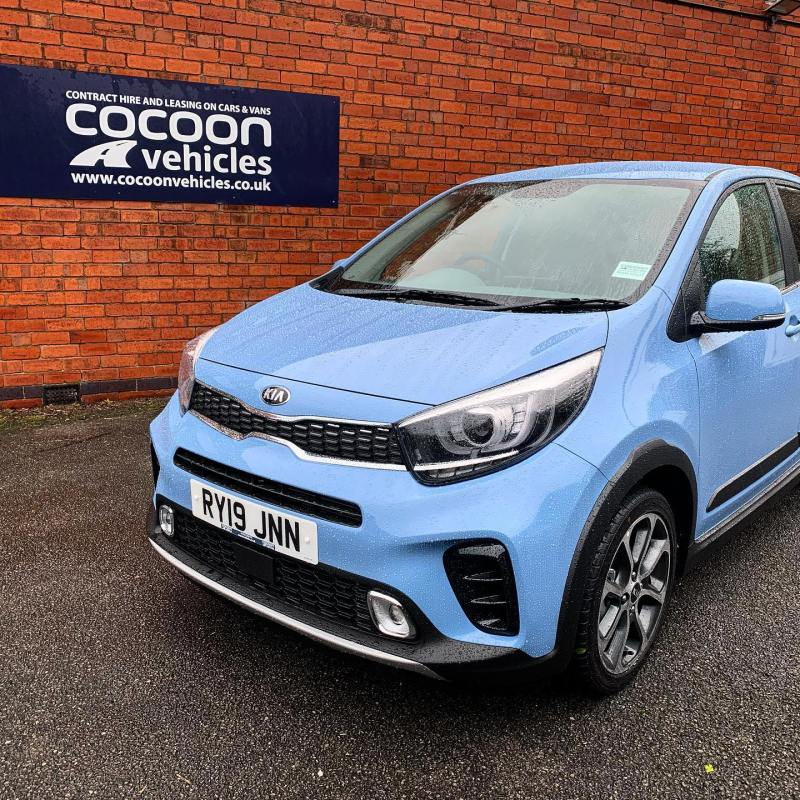 Ready to be delivered to a new customer, this fantastic Kia Picanto which is available from just £229 plus vat per month!
