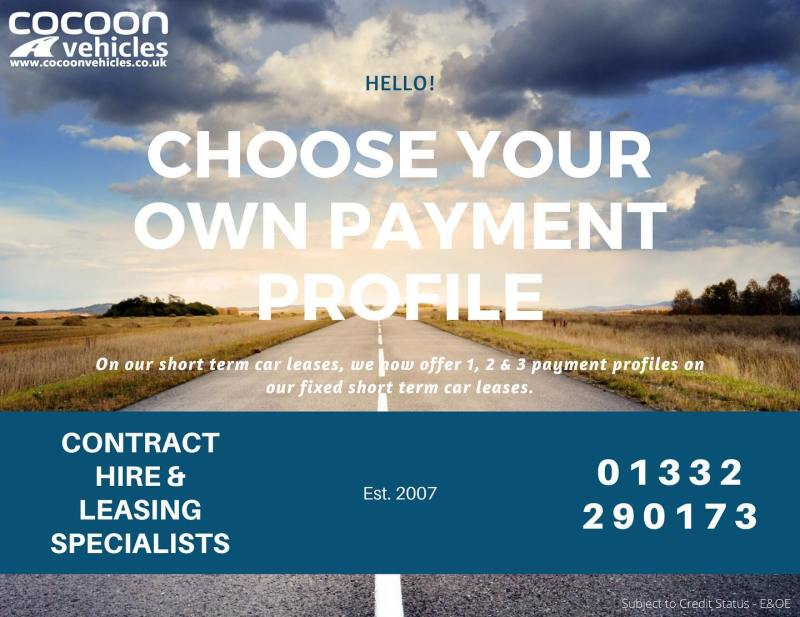 Our fixed short term car leases give you the option to put more money down to make your monthly rental lower, or you can put a small initial rental if you haven't got the full amount.  Find out more on our website!