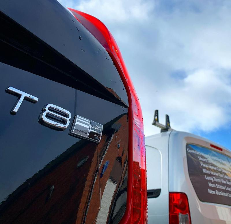 Another Volvo XC90 T8 Plug-in Hybrid arrived and ready to go out the door!