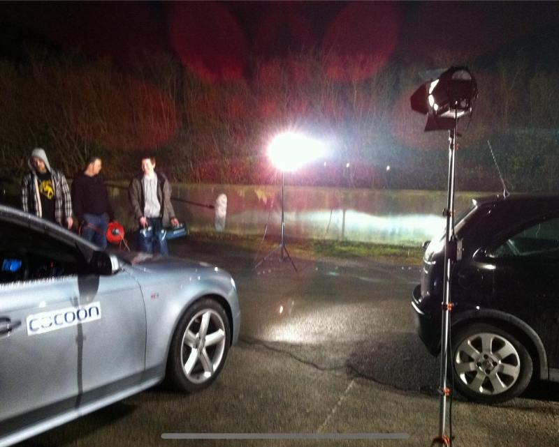 - to when we supplied an Audi A4 Avant to @lightfilmsltd in Derby to use in their brilliant comedy Shelf Stackers!  We had a great time on set until the very early hours of the morning!